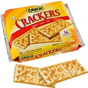 Cracker Crich salgado 500gr