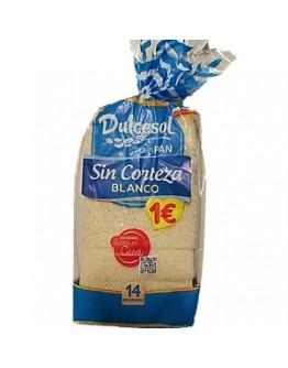 Dulcesol Pao de Forma sem Codea 350g - cx10