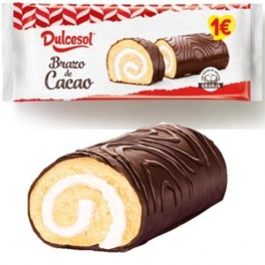 Dulcesol Tortas Brazo Cacao 250g