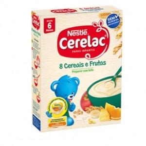 Nestle Cerelac 8 Cereais e Frutas