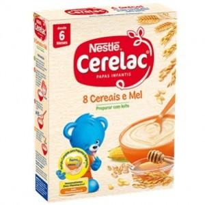 Nestle Cerelac 8 Cereais Mel