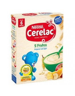 Nestle Cerelac 5 Frutos 250g - cx9