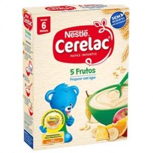 Nestle Cerelac 5 Frutos 250g