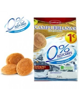 Cuetara - Campurrianas 0% açucares 150g
