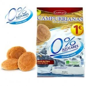 Cuetara - Campurrianas 0 açucares 150g