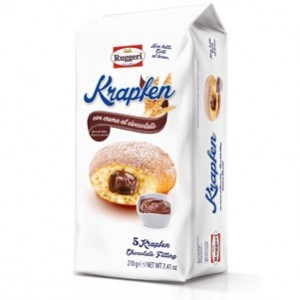 Ruggeri Krapken Chocolate 210g