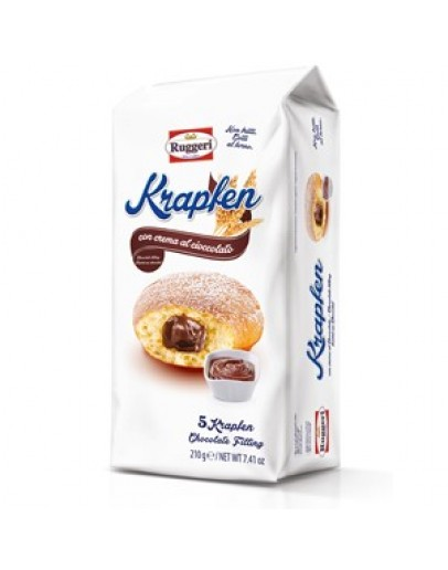 Ruggeri Krapken Chocolate 210g cx12