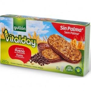 Sandwich de aveia com chocolate Vitalday 220g