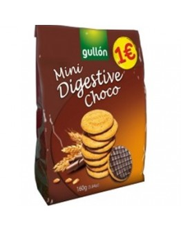 Bolacha Mini Digestive Choco 160g