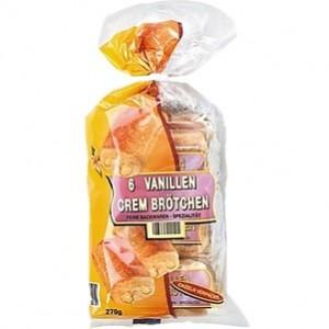 Cream Brotchen Recheio vanillen