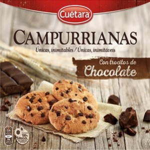 Cuetara - Mini Campurrianas Chocolate 145g