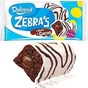BomBom Zebra 4unid Dulcesol