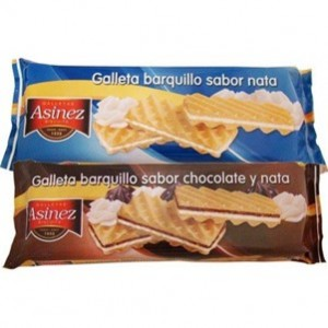 Asinez Galletas Barquillo 2x90gr