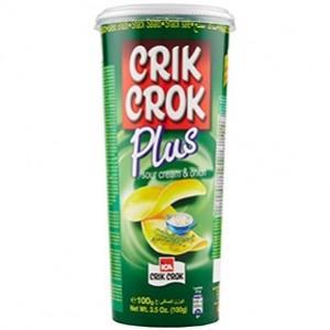 Crik Crok Sour cream & Onion 100g > Sg