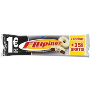 Artiach - Filipinos Chocolate Branco 135g