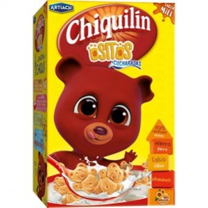 Artiach - Bolachas Chiquilin Ursinhos Mel 120g