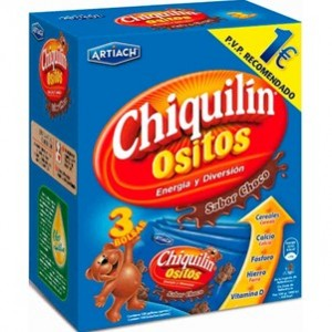 Artiach - Bolachas Chiquilin Ursinhos Choco 120g