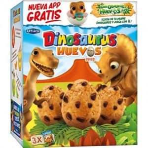 Artiach - Bolachas Ovos Dinosaurus 105g