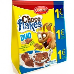 Cuetara - Choco Flakes Duo 150g