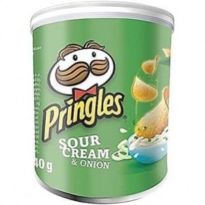 Pringles Sour Cream e Onion 40gr