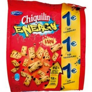 Artiach - Chiquilin Energy mini 125g
