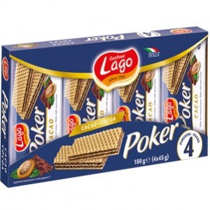 Lago - Poker Chocolate 180g