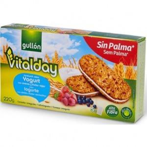Sandwich Logurte Com Aveia e Frutos Vermelhos Vitalday 220g