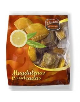 Madalenas Quadradas Limão Saco 12uni - cx12