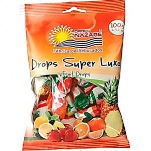 Caramelos Fruta Super Luxo 100gr Nazaré