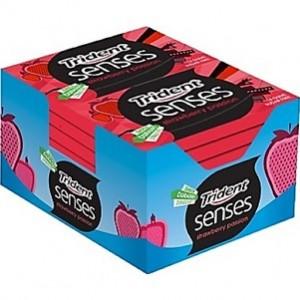 Trident Senses Strawberry Passion 18 uni