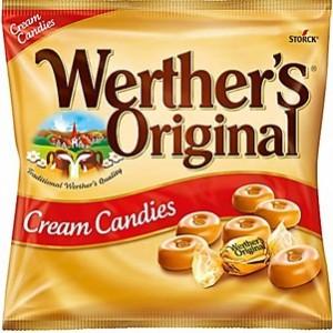 Rebuçados Werthers Original Creme kg