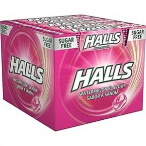 Halls Melancia 20und