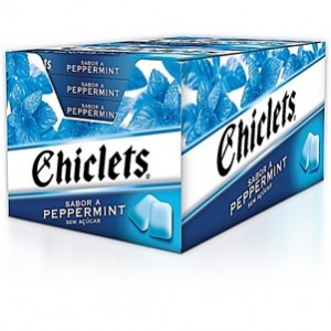 Chiclets Peppermint 14und