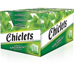 Chiclets Spearmint 14und