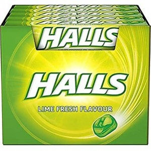 Halls Limão Lime Flavor 20und