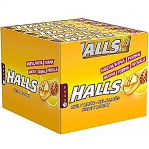 Halls Mel e Limão 20und