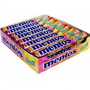 Mentos Fruit 20und