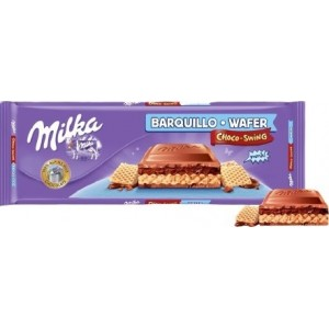 Chocolate Milka Wafer Barquillo 300gr
