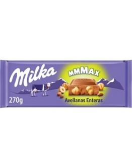 Chocolate Milka MMMax Avelãs 270gr - cx13