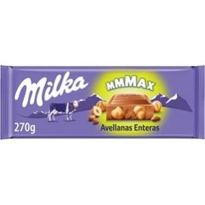Chocolate Milka MMMax Avelãs 270gr