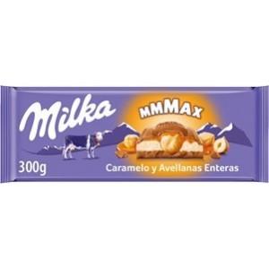 Chocolate Milka Caramelo e Avelãs 300gr