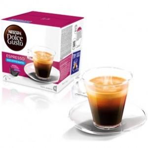 Café Capsulas Dolce Gusto Espresso Descafeinado 16cap - Pack 3cx