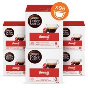 Café Capsulas  Dolce Gusto Espresso Buondi 16cap - Pack 6cx