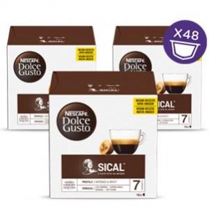 Café Capsulas Dolce Gusto Sical 16cap - Pack 3cx