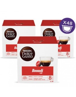 Café Capsulas Dolce Gusto Buondi 16cap - Pack 3cx