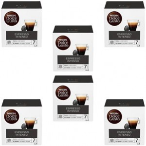 Café Capsulas Dolce Gusto Espresso Intenso 16cap - Pack 6cx