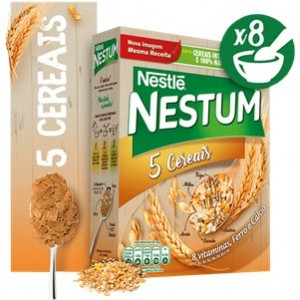 Nestum 5 Cereais 250