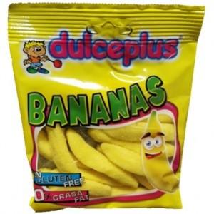 Saquetas Dulceplus Bananas 100g > Sg