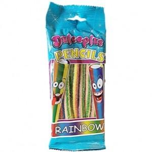 Saquetas Dulceplus Pencils Relerinos Cores Pika 100g
