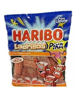 Saquetas Haribo Ladrillos Pika 90g